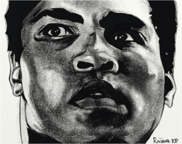 Muhammad Ali por RaissaKP